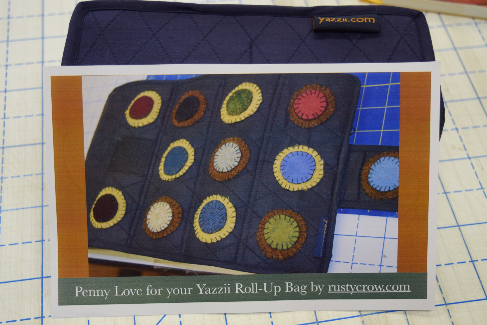 Penny Love Wool Kit for the Small Yazzii Roll-Up Bag