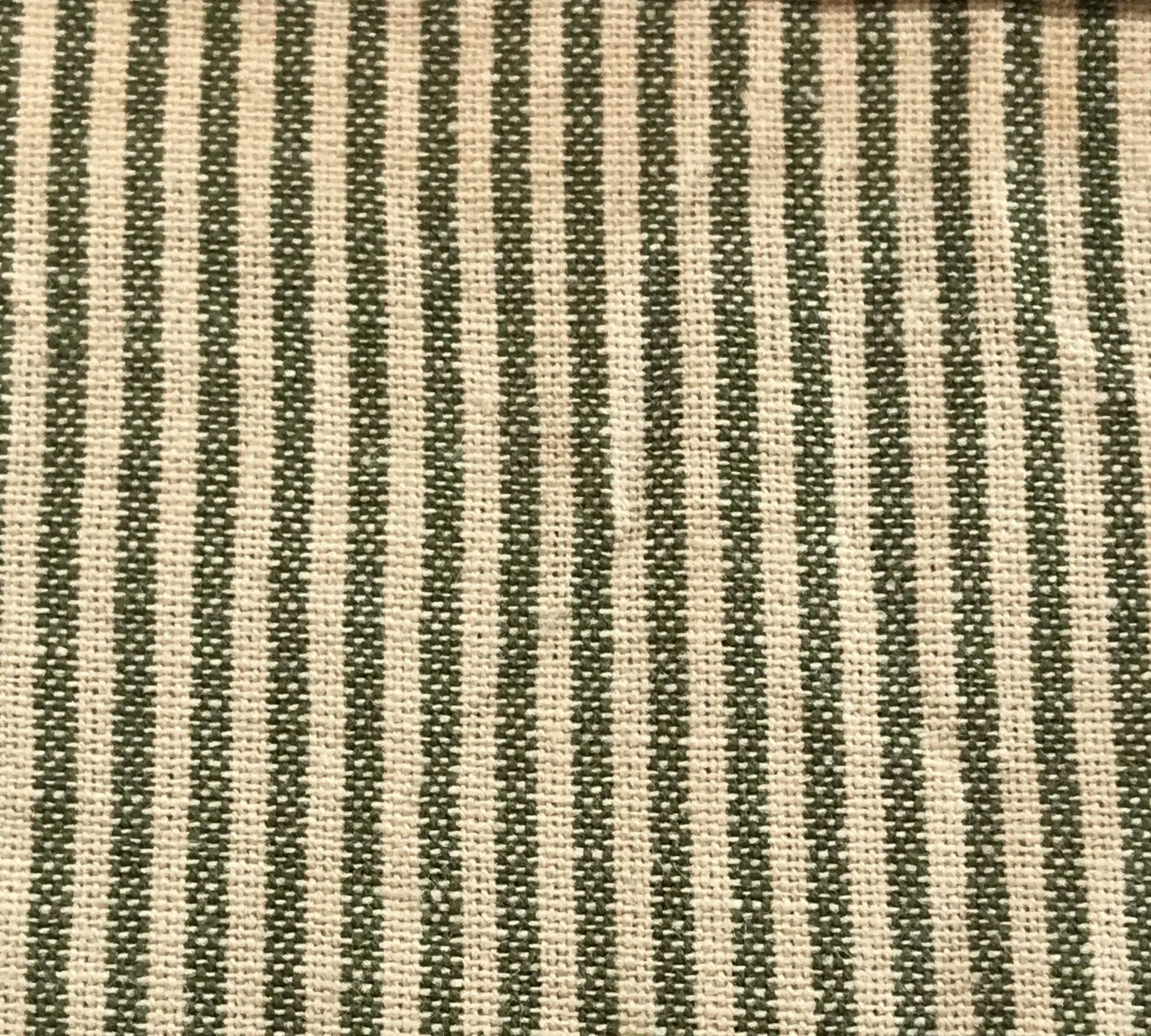 Faded Memories FM 8515 Green & Cream Stripes
