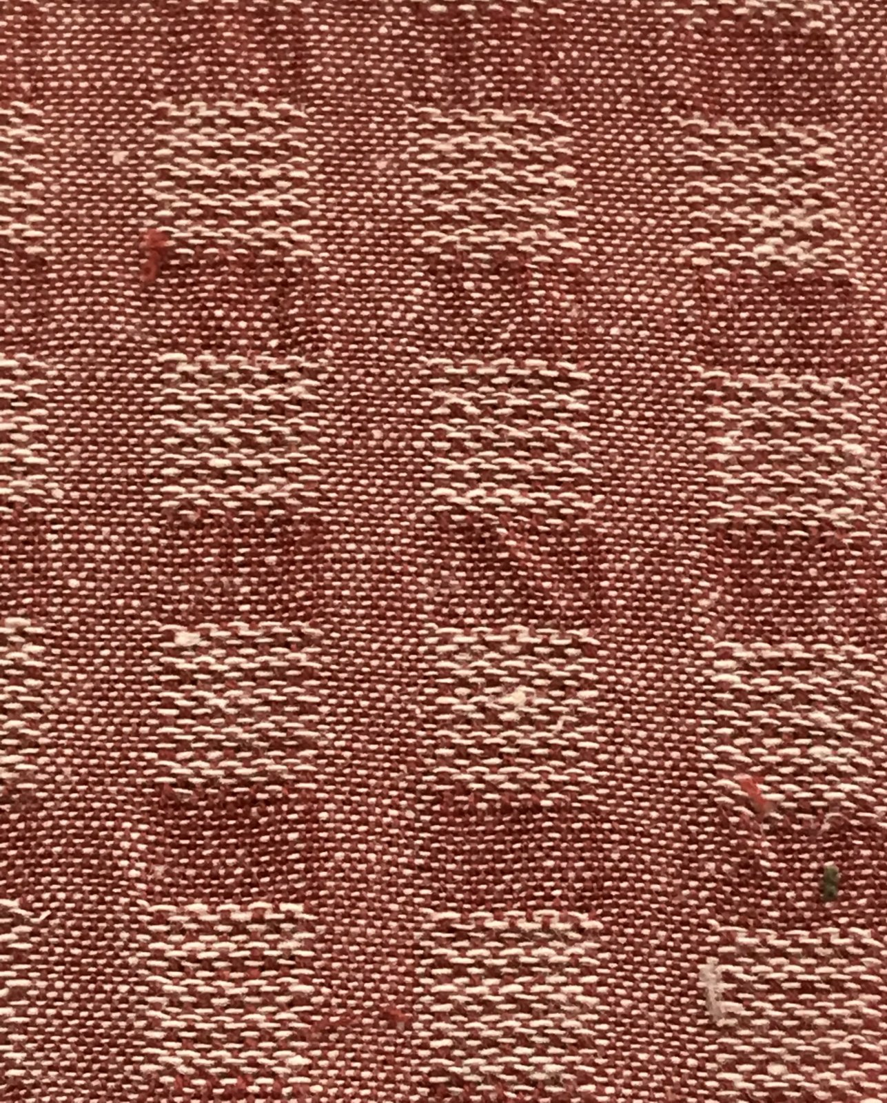 Faded Memories FM 8507 Red Waffle Weave
