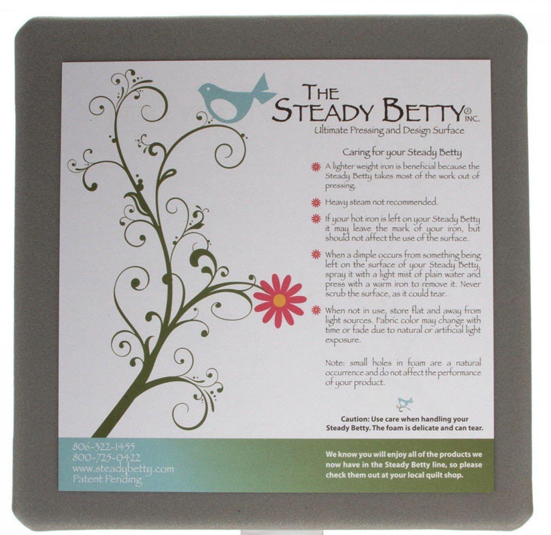 Steady Betty Original Gray Board 12 X 12 Made in the USA