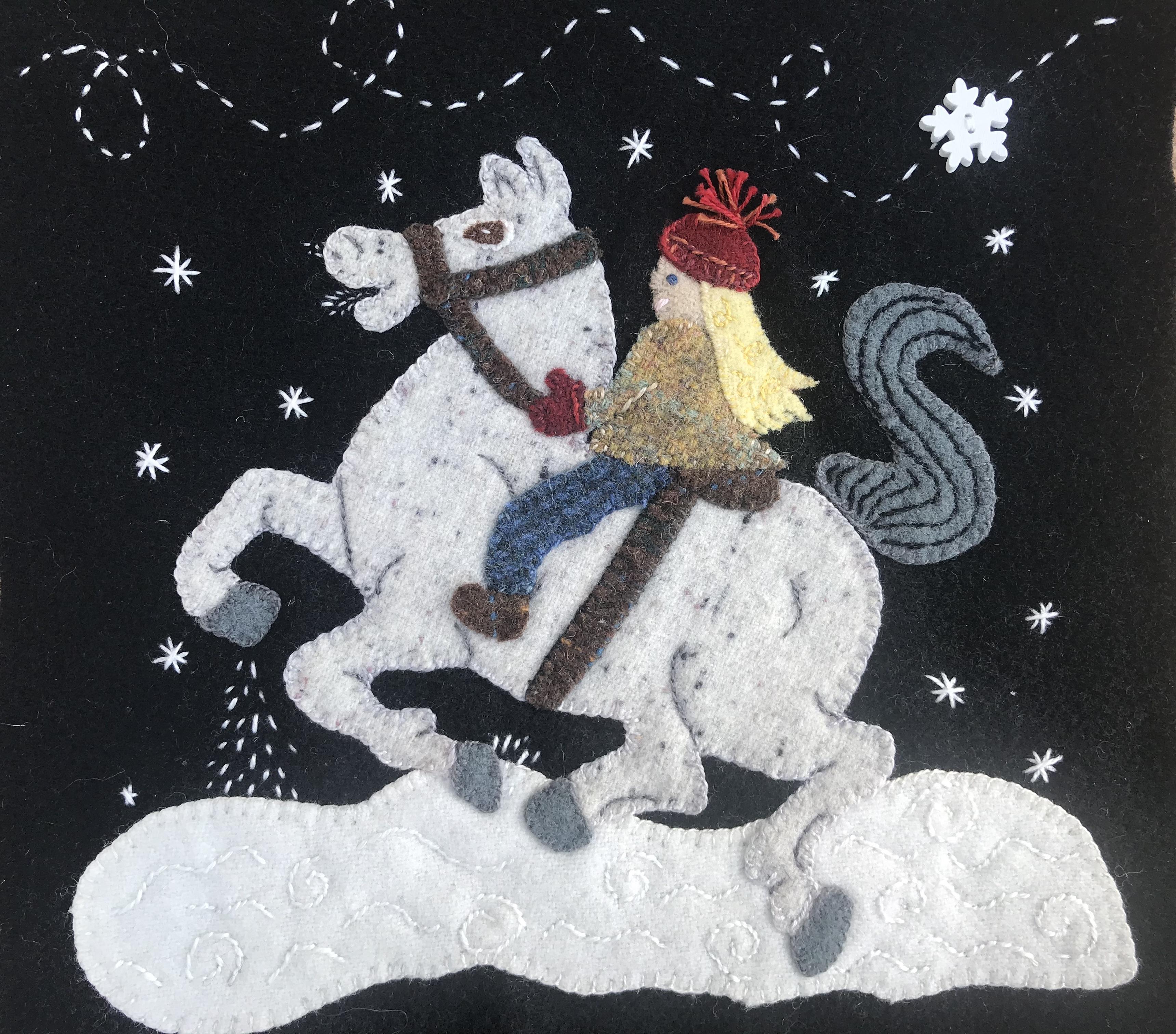 Winter Ride Block 2020 Wooly Block Adventure Download Only