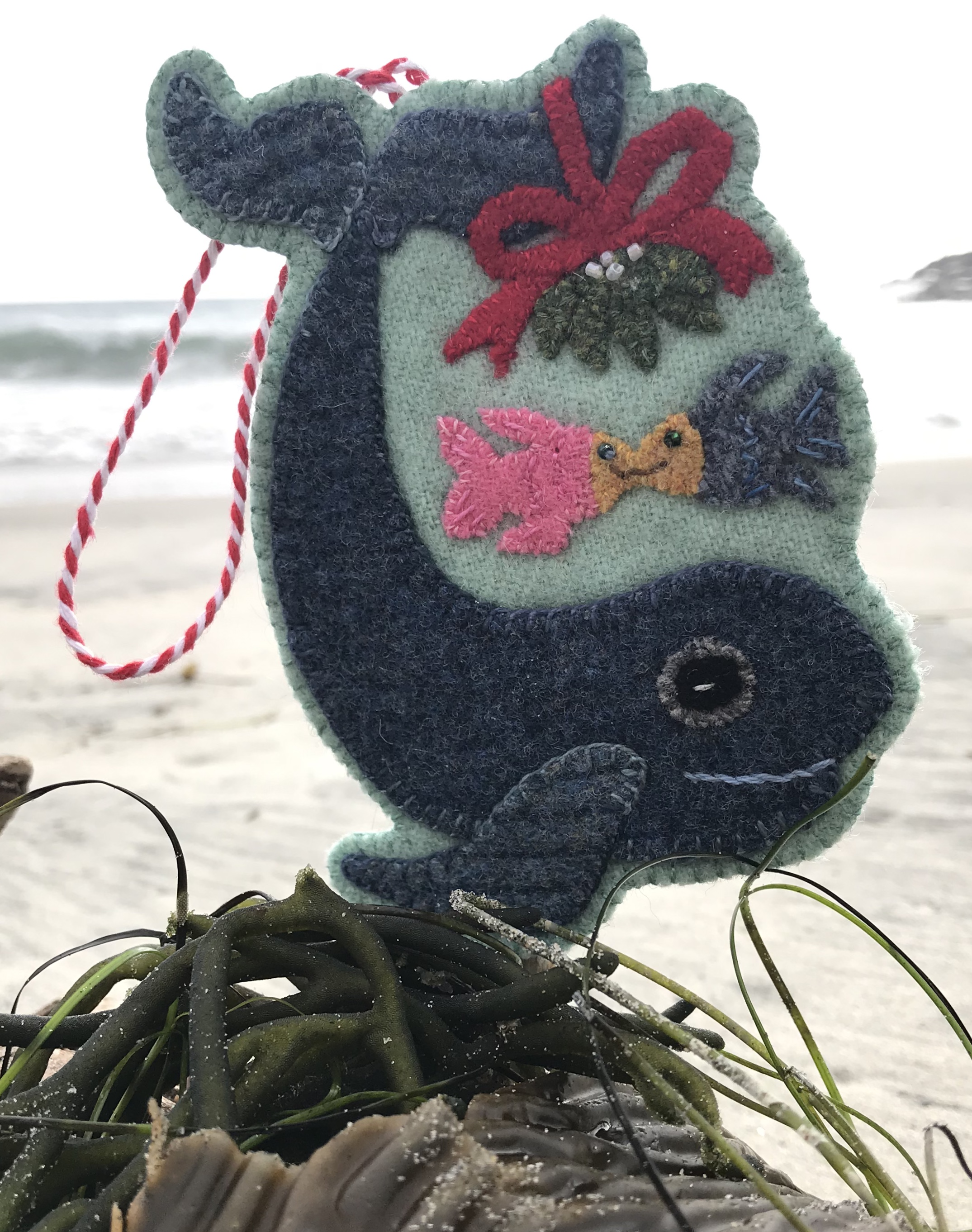 Mistletoe Whale Christmas by the Sea Download