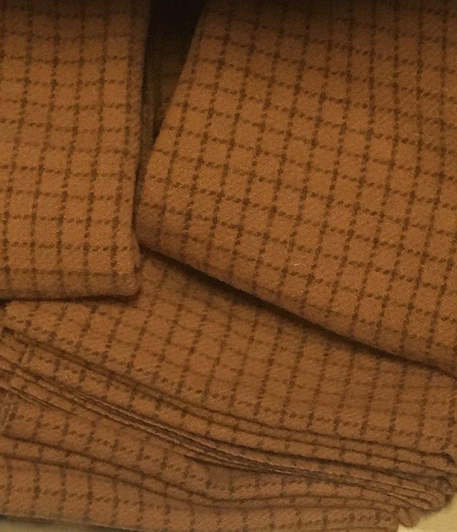 Pumpkin Pie 9 X 14 100% Wool