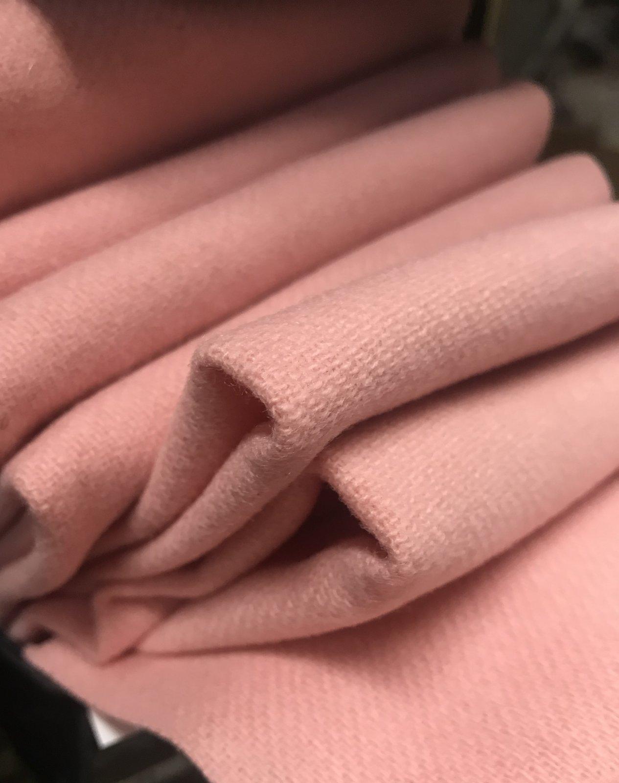 Pink Lemonade 18 X 21 Wool Solid Color