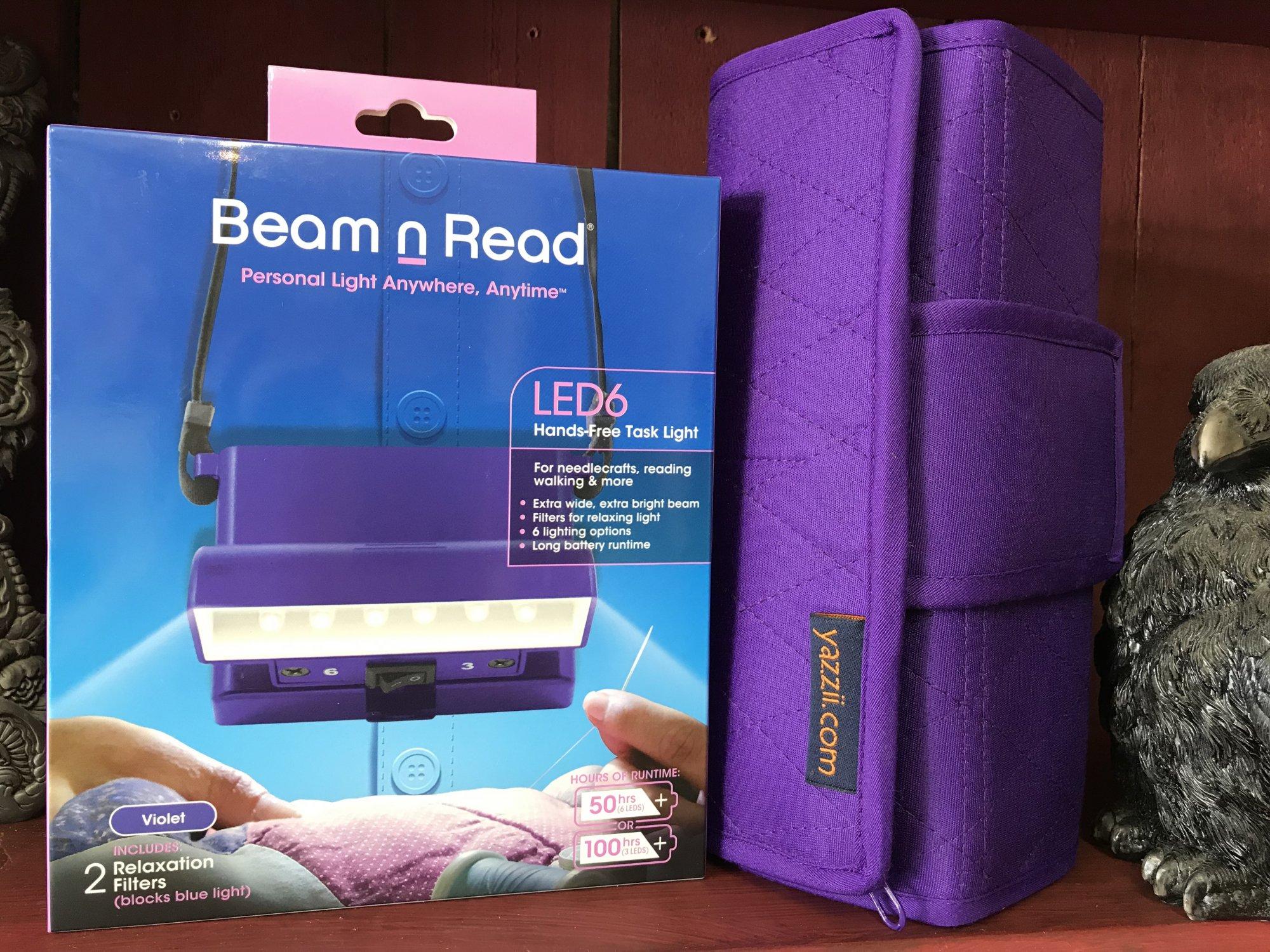 Holiday Combo Purple Beam N Read & Sm. Purple Yazzii Roll-Up