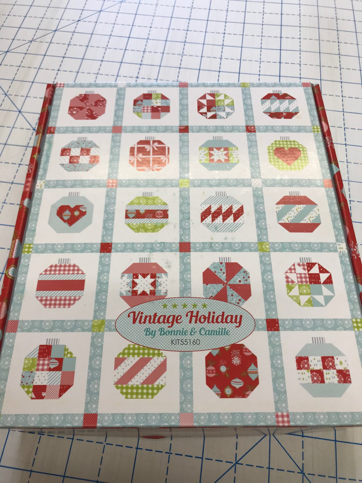 Vintage Holiday 2 Quilt Kit by Moda & Camille Roskelly