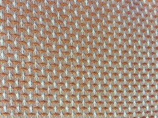 Heritage Collection Reddish Orange and Cream Diamond Weave  HER 2421