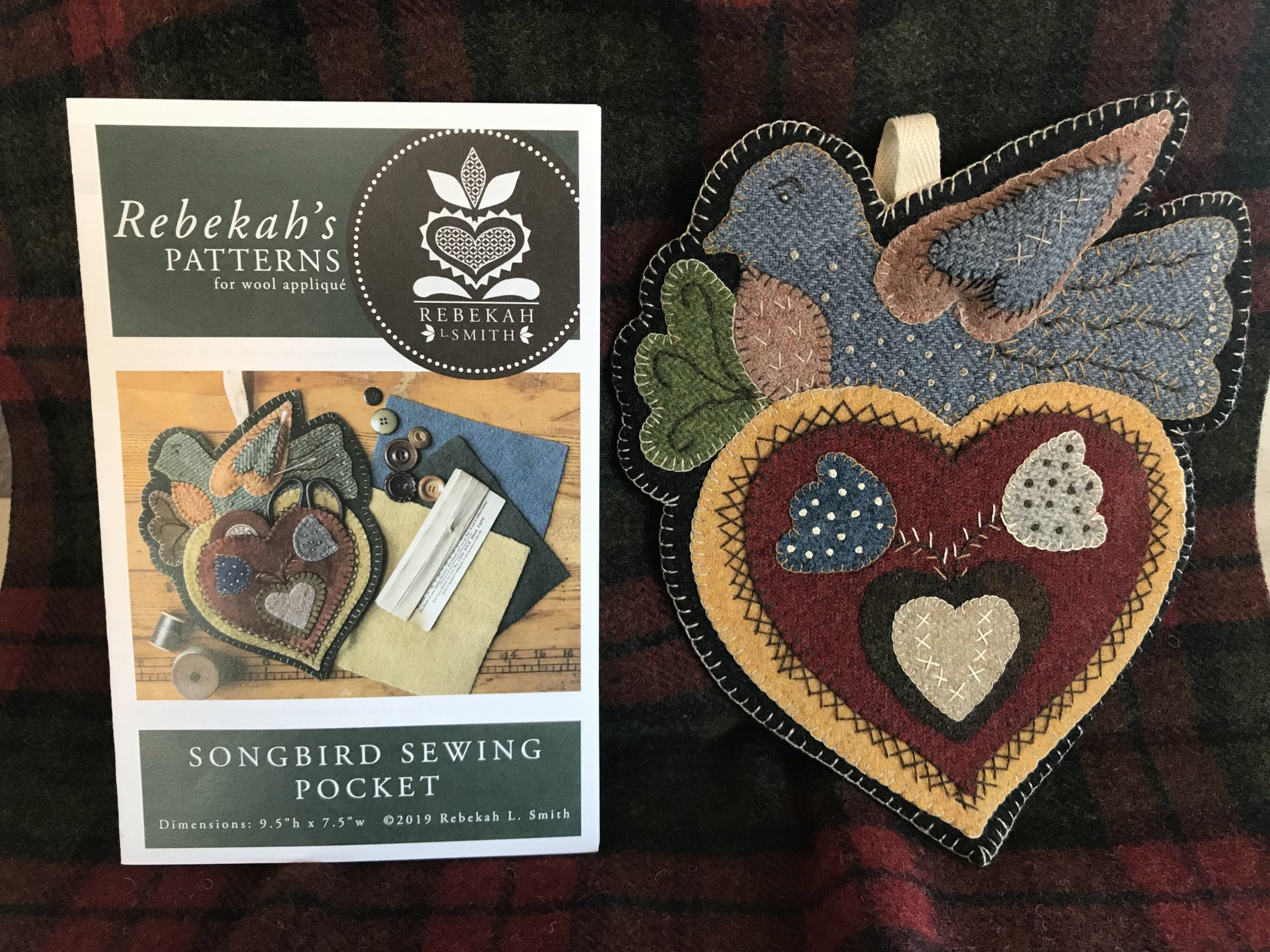 Songbird Sewing Pocket Wool Kit & Pattern