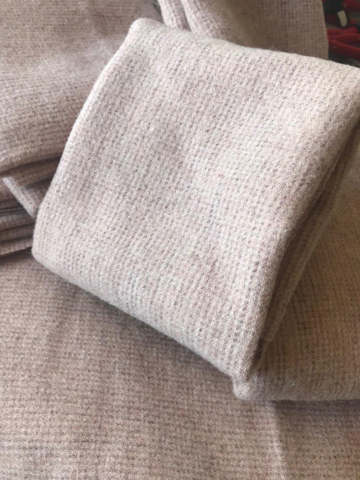 Primitive Pink 100% Wool 18 X 21