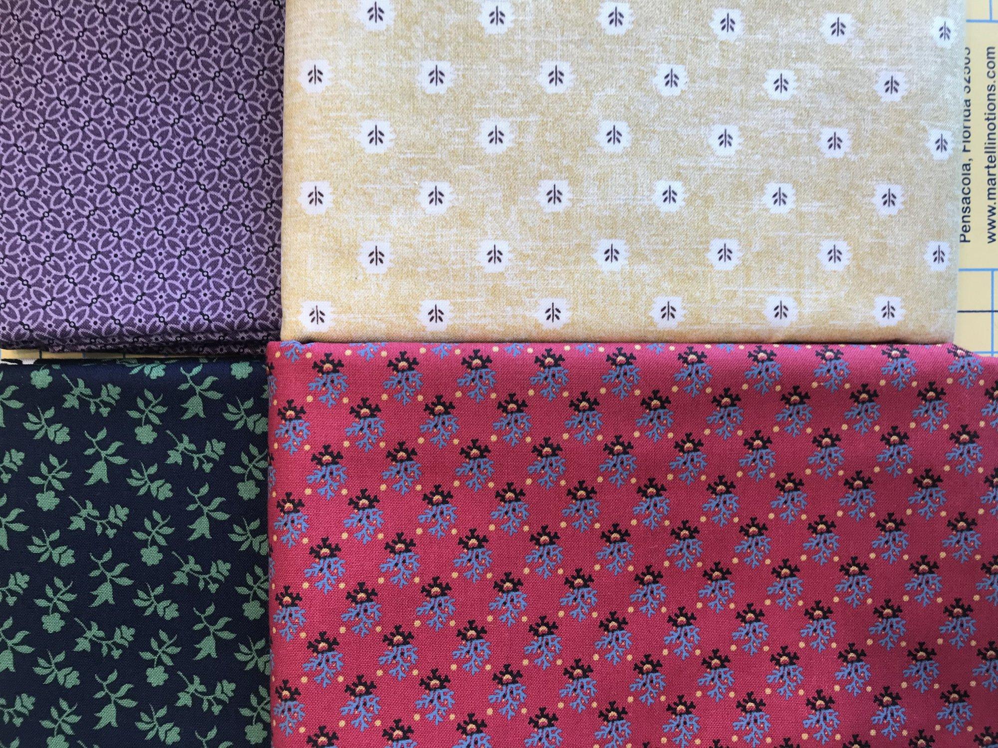 5-B 4 Marcus Fabrics One Yard Cuts