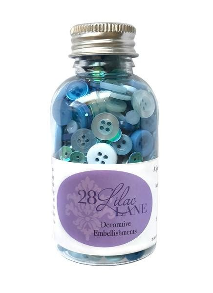 Last One!!! 28 Lilac Lane Winter Blues Buttons