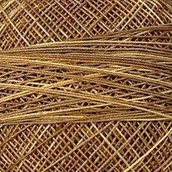 JP2  Spun Gold Crochet Cotton Valdani Size 20 Wt.