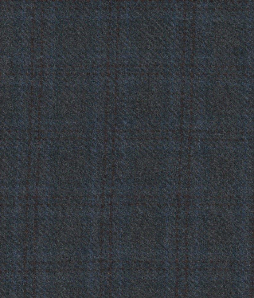 Caribbean Teal  Wool  9 X 14