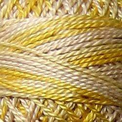 M67 Blurry Vanilla shades of soft yellow 3-Strand Floss Valdani