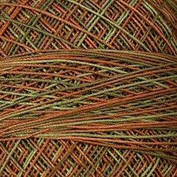 M78 Copper Leaf Crochet Cotton Valdani Size 20 Wt