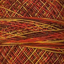 M7 Fall Leaves Crochet Cotton Valdani Size 20 Wt.