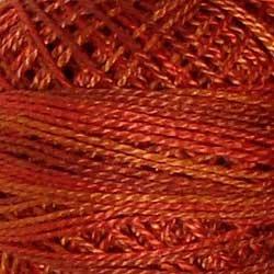 O510 Size 12 Terracotta Twist - superb terracotta shades rust burnt orange Valdani