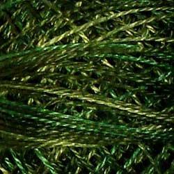 O526 Size 12 Green Pastures - subtle shading of summer-leaf greens Valdani