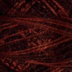 O547 Size 12 Burnt Chocolate - dark browns black Valdani