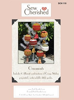 Sew Cherished Wool Ornaments