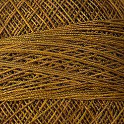 P5 Tarnished Gold Crochet Cotton Valdani Size 20 Wt