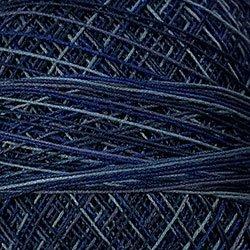 P7 Withered Blue Crochet Cotton Valdani Size 20 Wt.