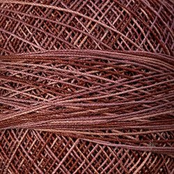 P8 Old Rose Crochet Cotton Valdani Size 20 Wt.