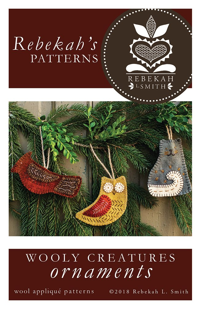Wooly Creatures Ornaments by Rebekah Smith