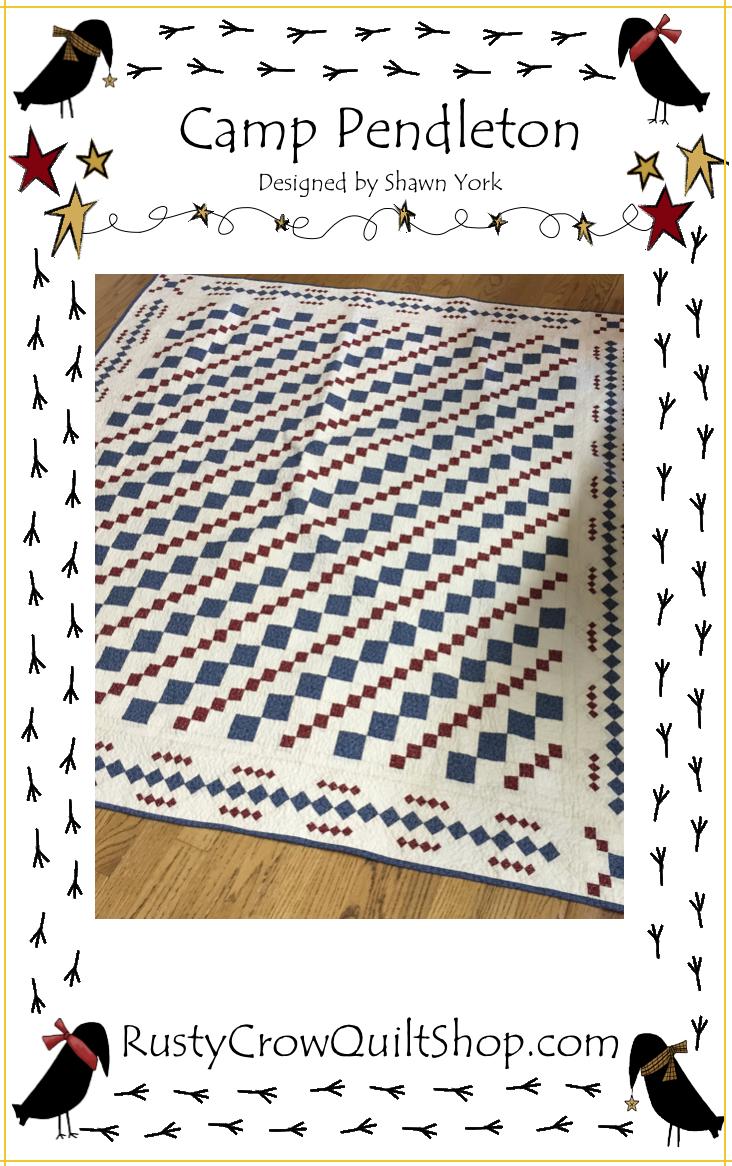 Camp Pendleton Quilt Pattern
