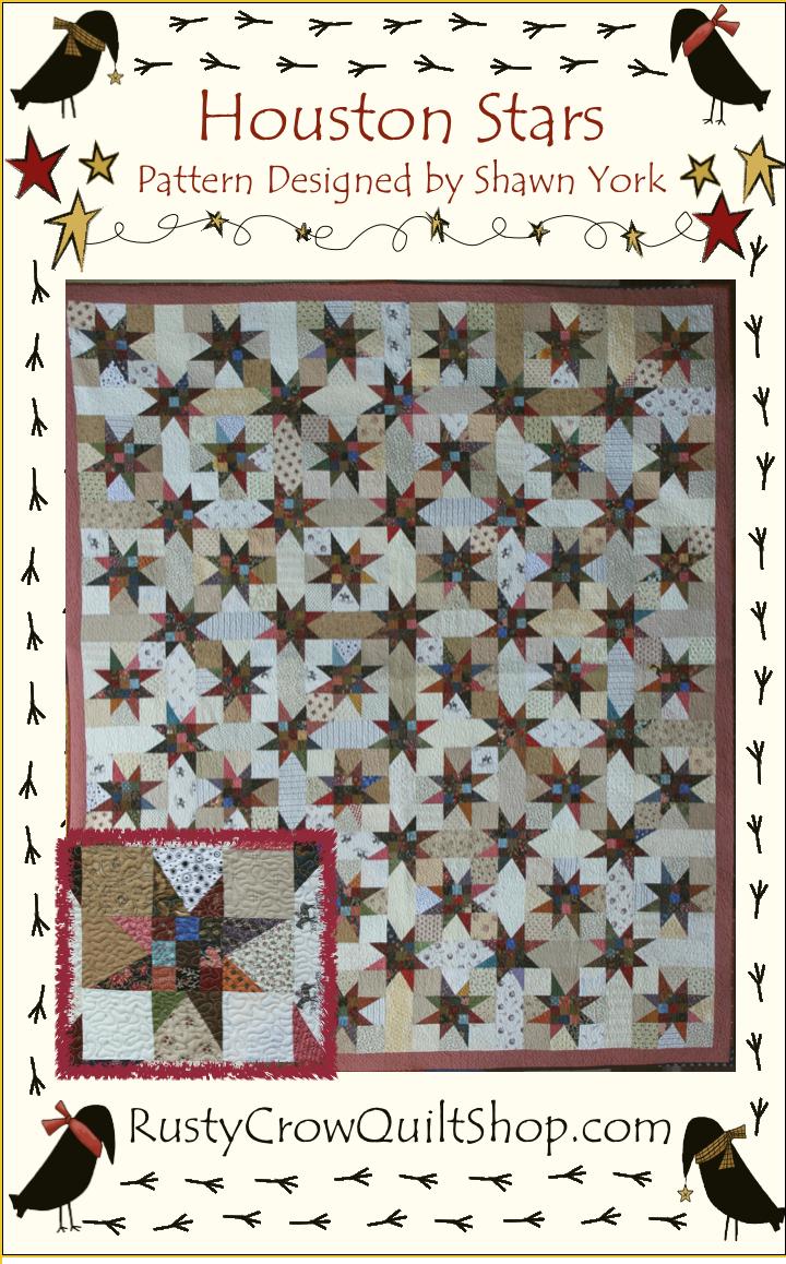 Houston Stars Quilt Pattern
