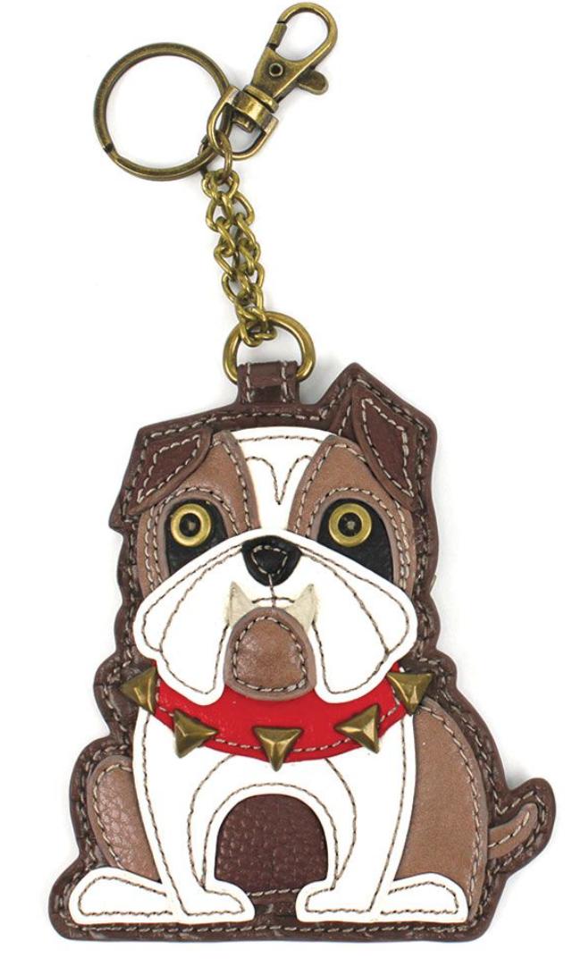 Bulldog Key Chain