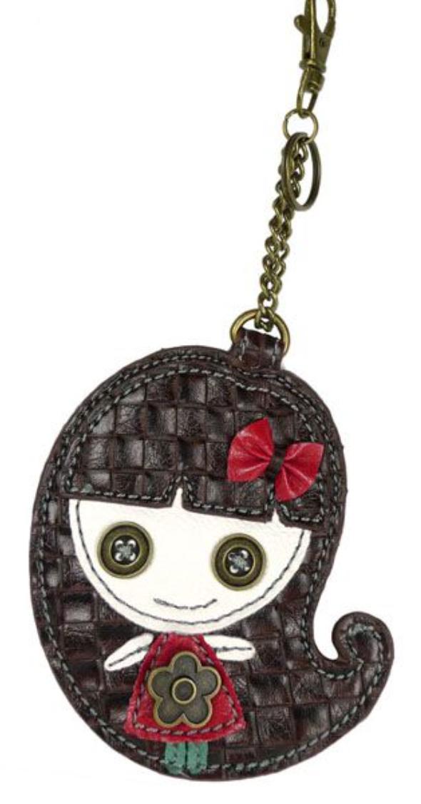 Brown-Eyed Girl Keychain