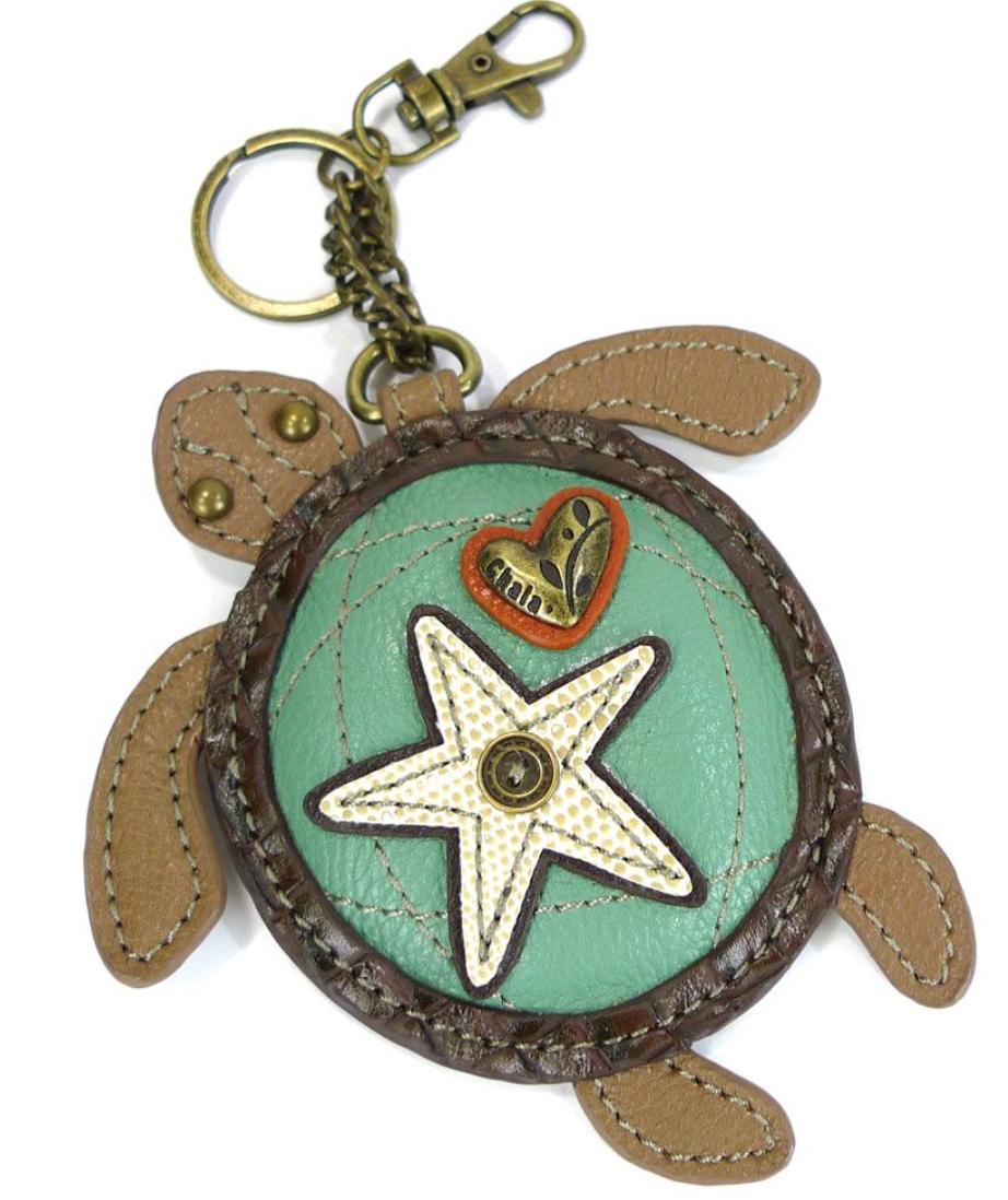 Sea Turtle Key Fob/Coin Purse
