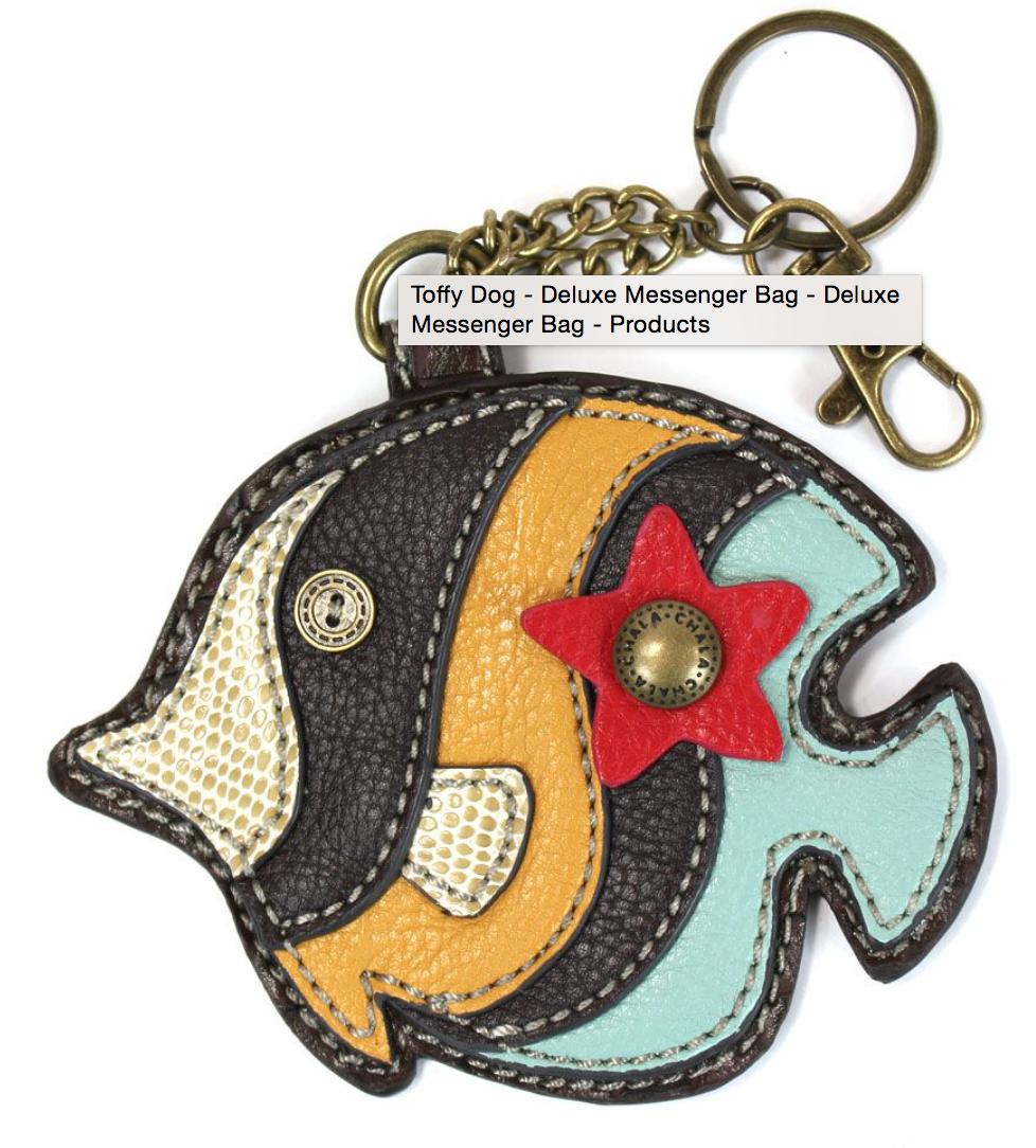 Tropical Fish Keychain