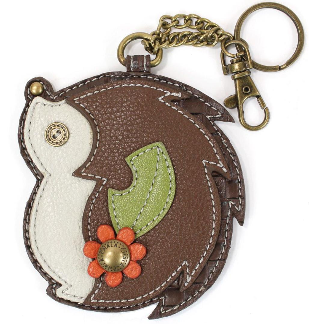 Hedgehog Keychain
