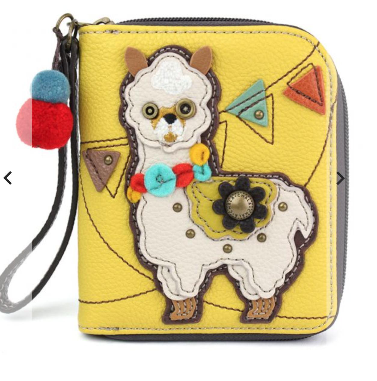 Llama Zip Around Wallet