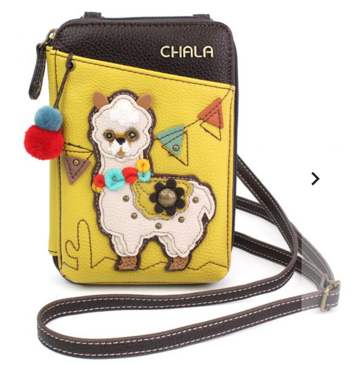 Llama Crossbody Wallet/Purse