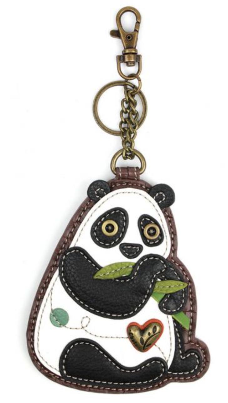 New Panda Key Fob/Coin Purse