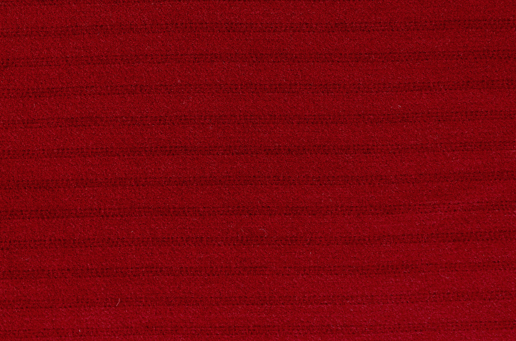 Really, Really Red  18 X 21  100% Wool