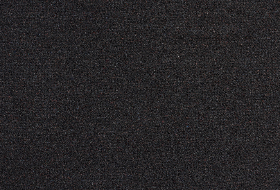Black Inky Twee 18 X 21 100% Wool