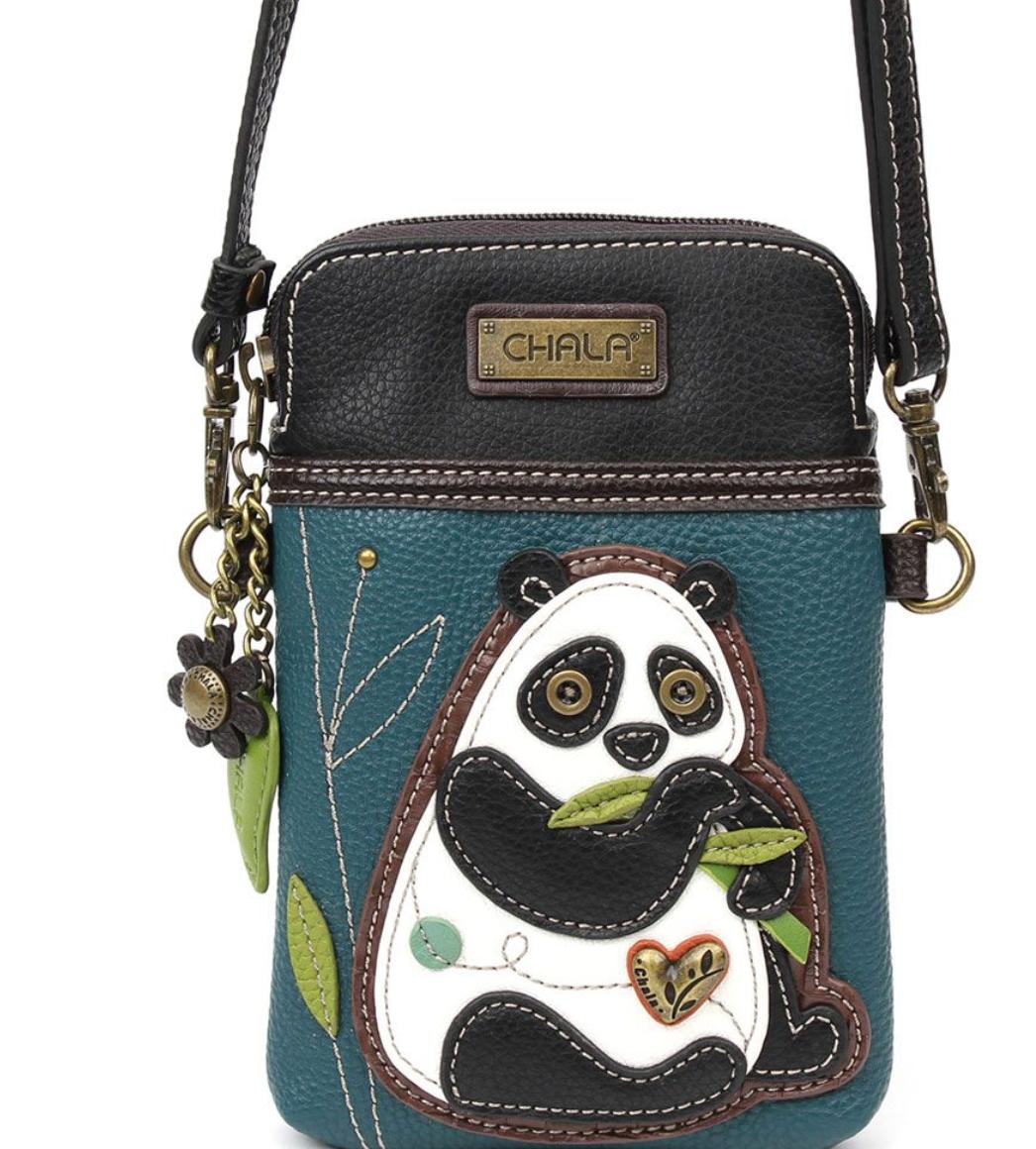 New Panda Crossbody Cell Phone Purse