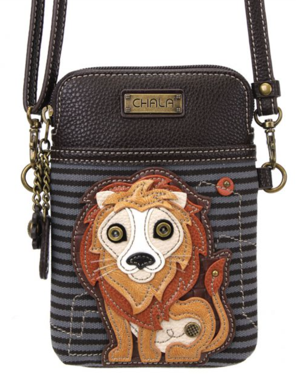 Lion Cell Phone Crossbody