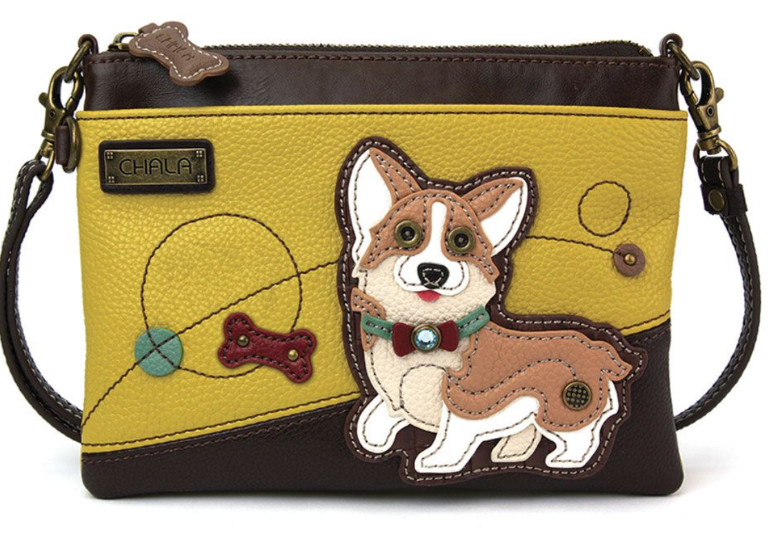 Corgi Mustard Mini Crossbody