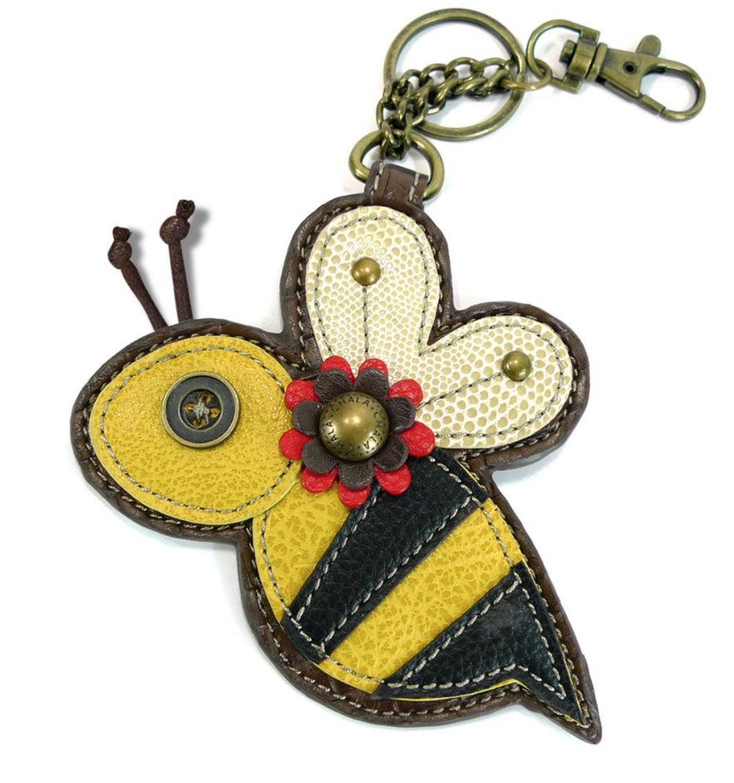 Bee Key Fob/Coin Purse
