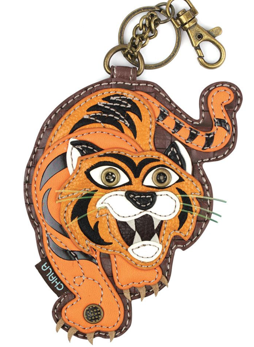 Tiger Key Fob / Coin Purse
