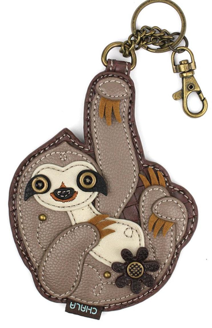 Sloth Key Fob / Coin Purse