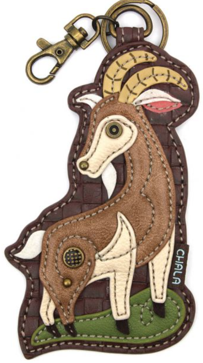 Goat Key Fob/Coin Purse