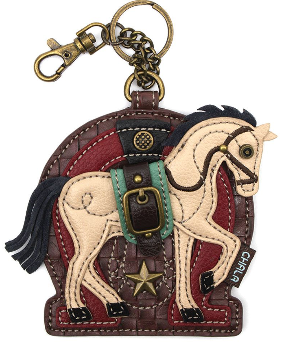 Horse A Key Fob/Coin Purse