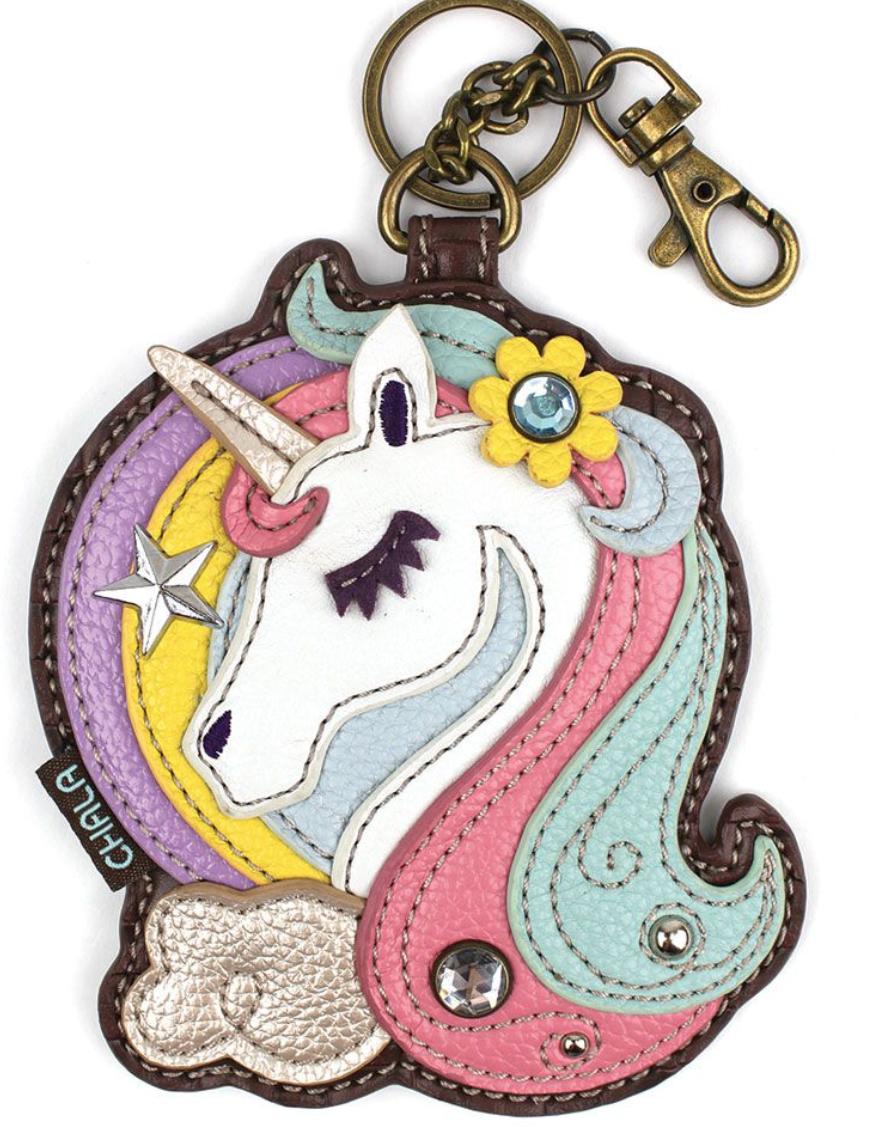 Unicorn Key Fob / Coin Purse