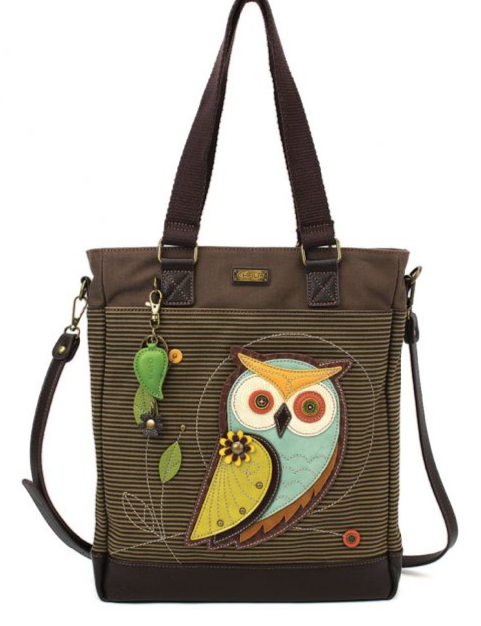 Owl Striped Work Tote